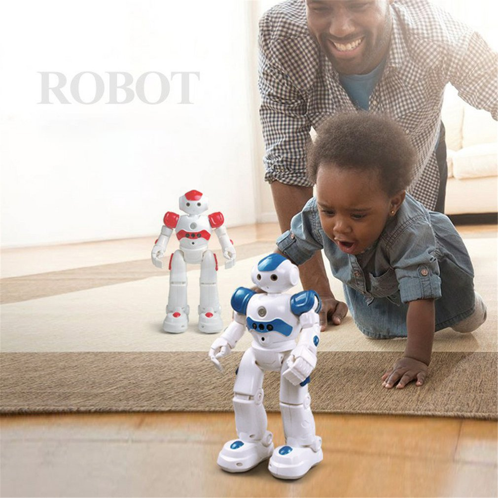 Intelligent Early Education Remote Control Robot Puzzle Boy Children's Toy Gesture Induction USB Charging enlarge