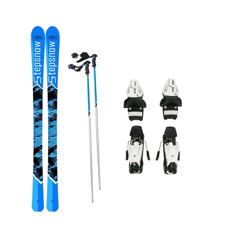 Winter sports Hot sale Step snow WJ-163 series skis snow board  include  binding and pole