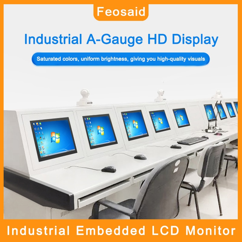 Feosaid 23.6 inch Industrial LCD display Monitor 24