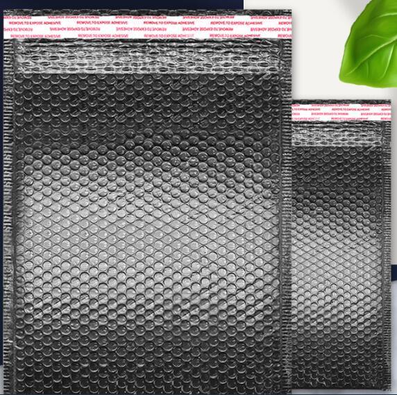 Black Bag Foam Envelope Foam Foil Office Packaging Envelope Moistureproof Vibration Bag, Size in CM,seal length 4 cm or 6 cm