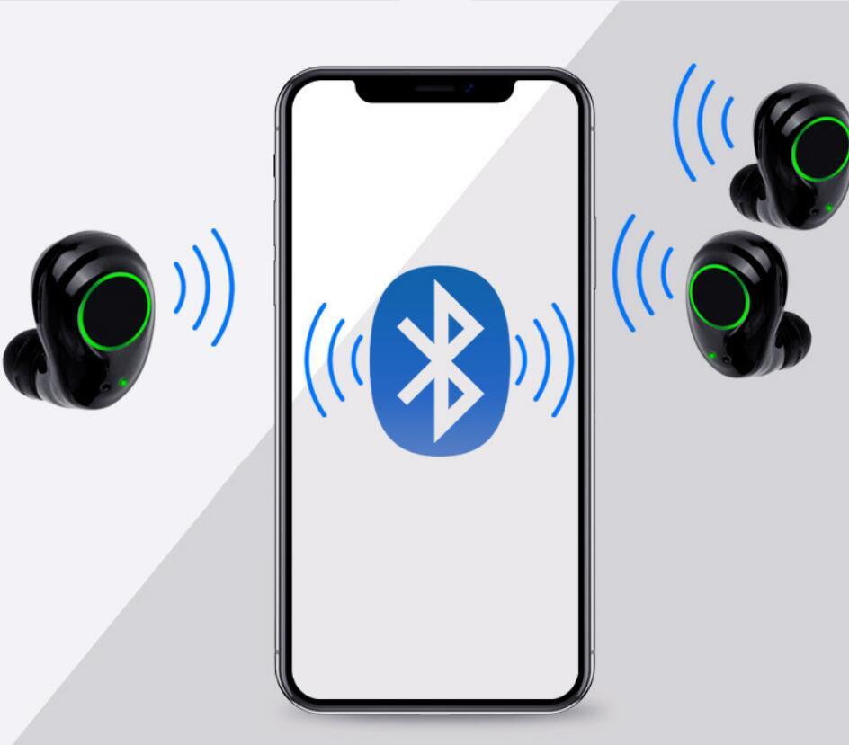 True Wireless Bluetooth5.0 Headphone Stereo Noise reduction Headset Sports Running Earphone Creative TWS Waterproof Earphone enlarge