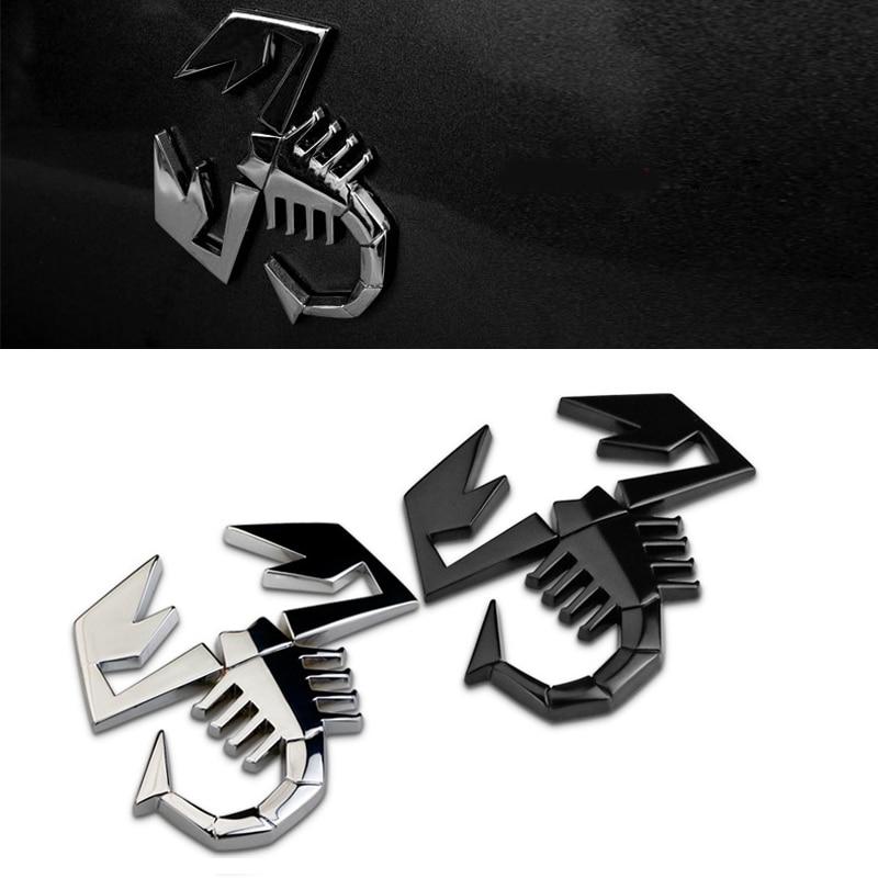 Pegatina de reacondicionamiento de escorpión para coche, decoración automática para Abarth Fiat...