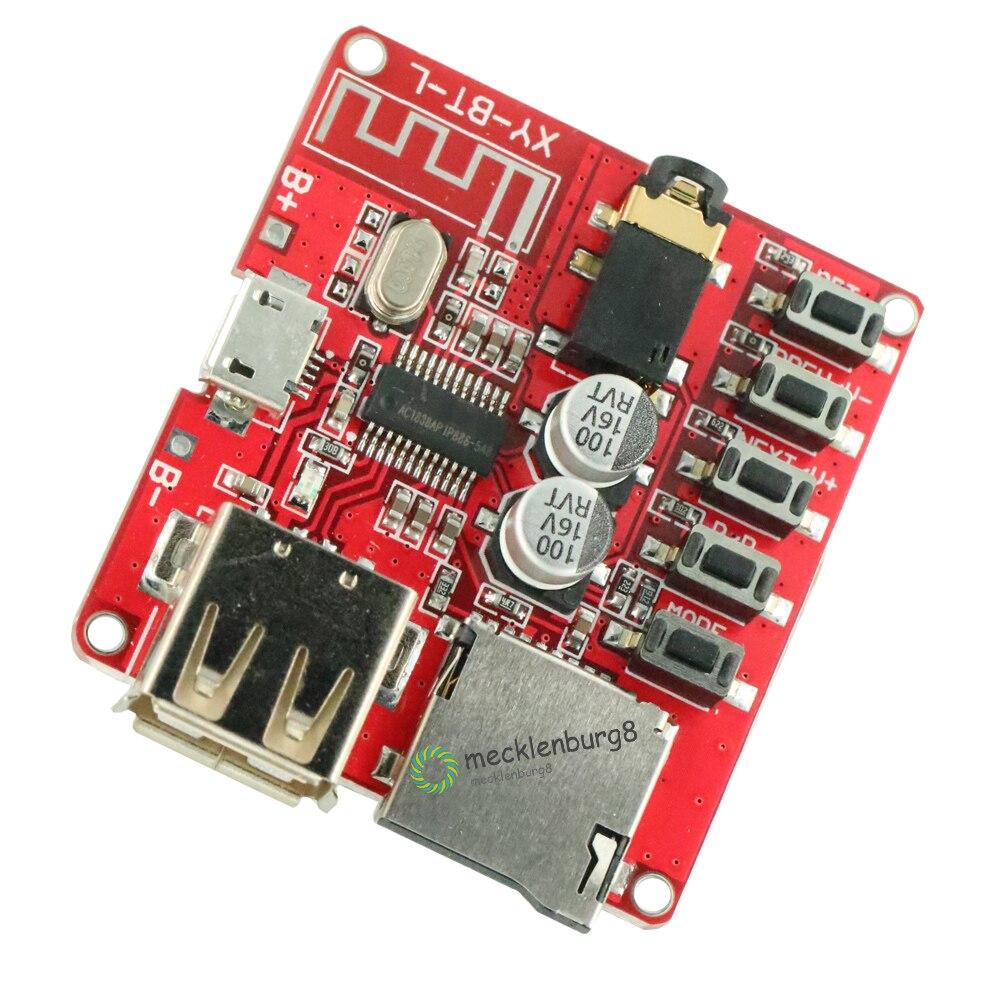 Placa decodificador Bluetooth MP3 amplificador de coche sin pérdida para placa de altavoz módulo receptor estéreo de circuito Bluetooth 4,1 modificado 5