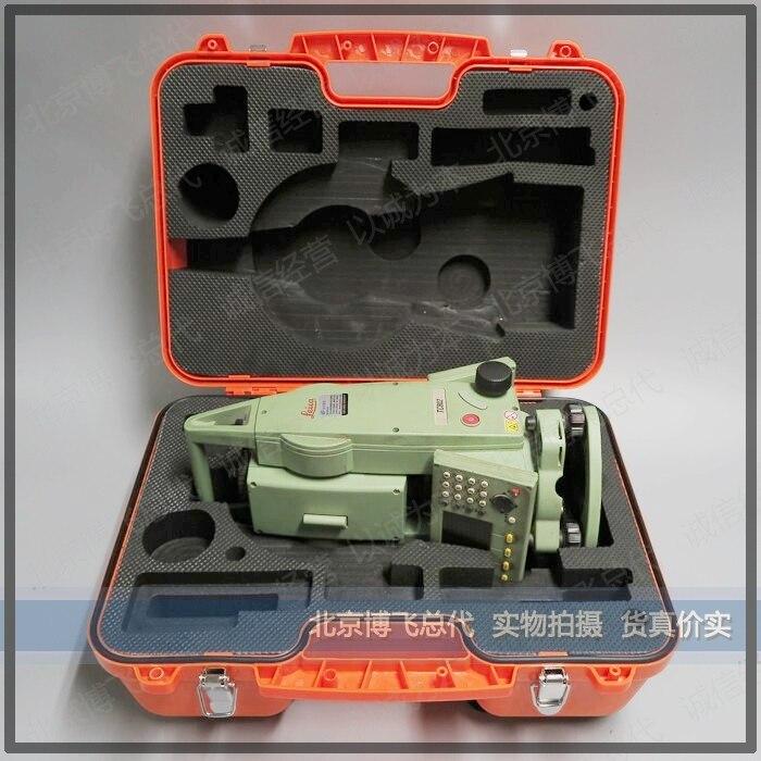 Leica estação total instrumento caixa tcr402/702/802 caixa de plástico doméstico instrumento caixa exterior pode ser vendido única caixa fivela