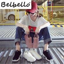 Belbello chaussettes chaussures femmes printemps nouveau 2020 toutes sortes de chaussures de sport coréennes femmes INS super chaussures chaudes femmes 802