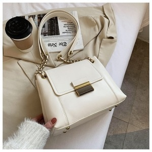 Texture Bag Female2021autumn and Winter New Wave Korean Fashion Ladies Chain Messenger Bag Wild Single Shoulder Small Square Bag