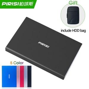 Тонкий HDD портативный внешний жесткий диск Disco duro externo USB3.0 Disque dur externe для ПК, Mac, планшета, ТВ включает HDD мешок подарок