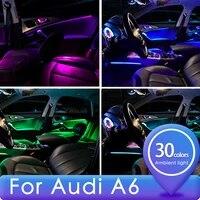 for audi atmosphere light a6 interior atmosphere light 2130 color original non destructive modification upgrade interior