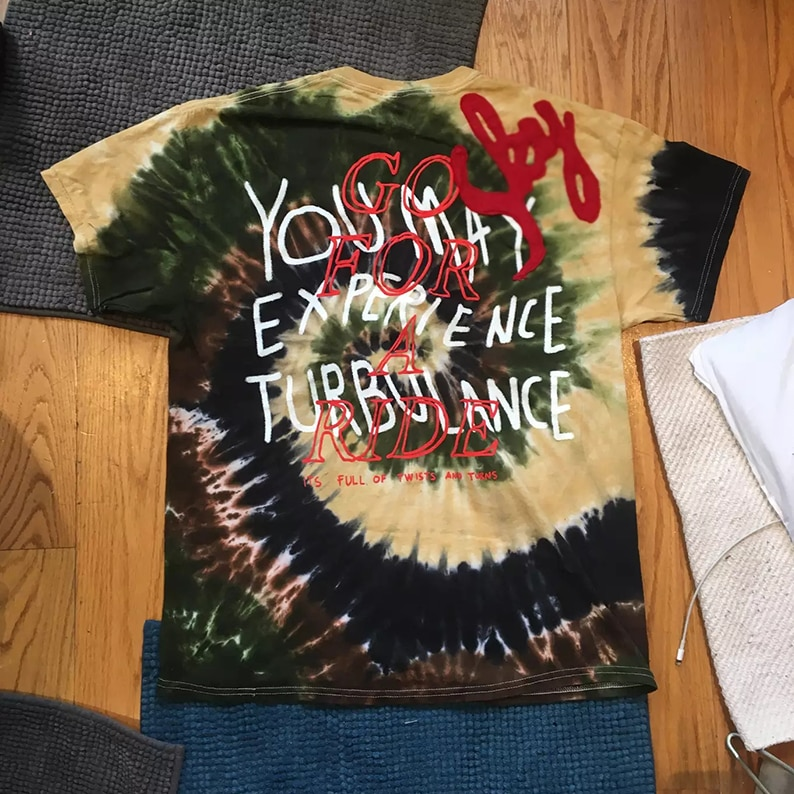 Camiseta para hombre y mujer del Astroworld Tour Vegas de Travis Scott, camiseta de DSM NY Screamer, camiseta superior de Burlon ASTROWORLD, camiseta Xxxtentacion