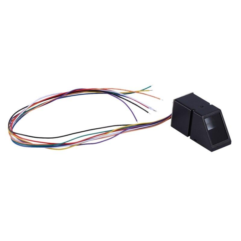 Módulo de Sensor de lector de huellas dactilares HOT-AS608 módulo óptico de huellas dactilares para Arduino bloquea la comunicación en serie Interfa