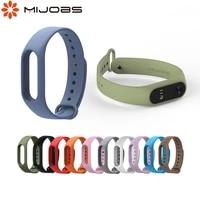 for xiaomi mi band 2 strap silicone wrist strap mi band 2 bracelet correa smart watch accessories mi band 2 wristband