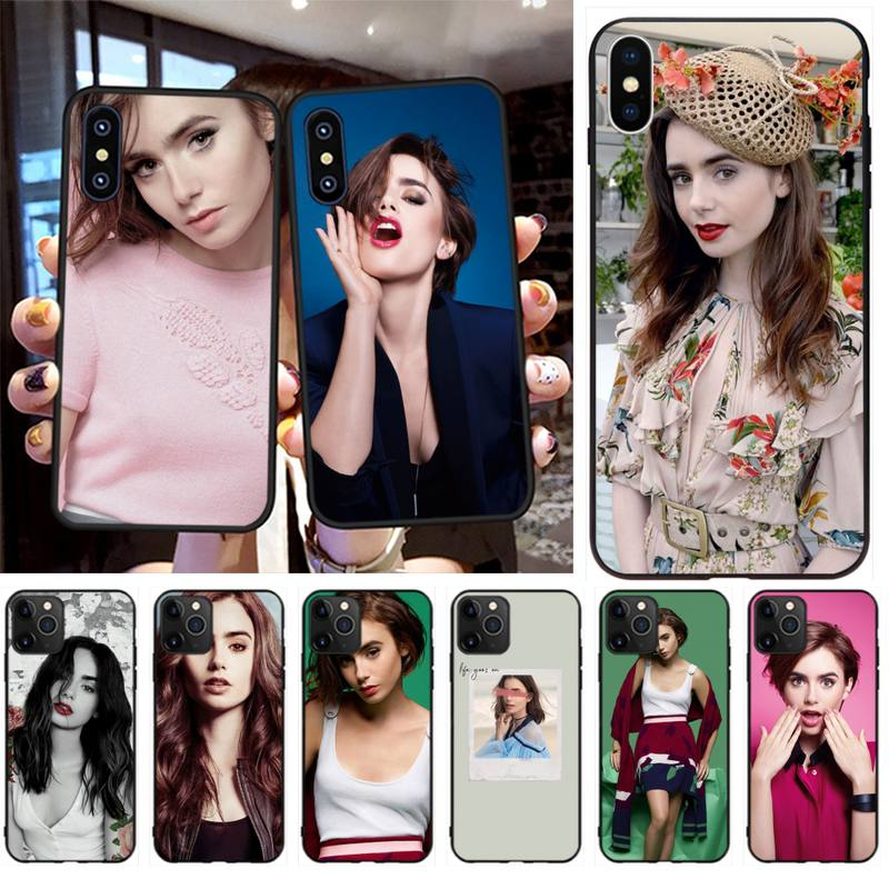 Funda NBDRUICAI Lily   Diseño único de lujo para iPhone 11 pro XS MAX 8 7 6 6S Plus X 5S SE XR