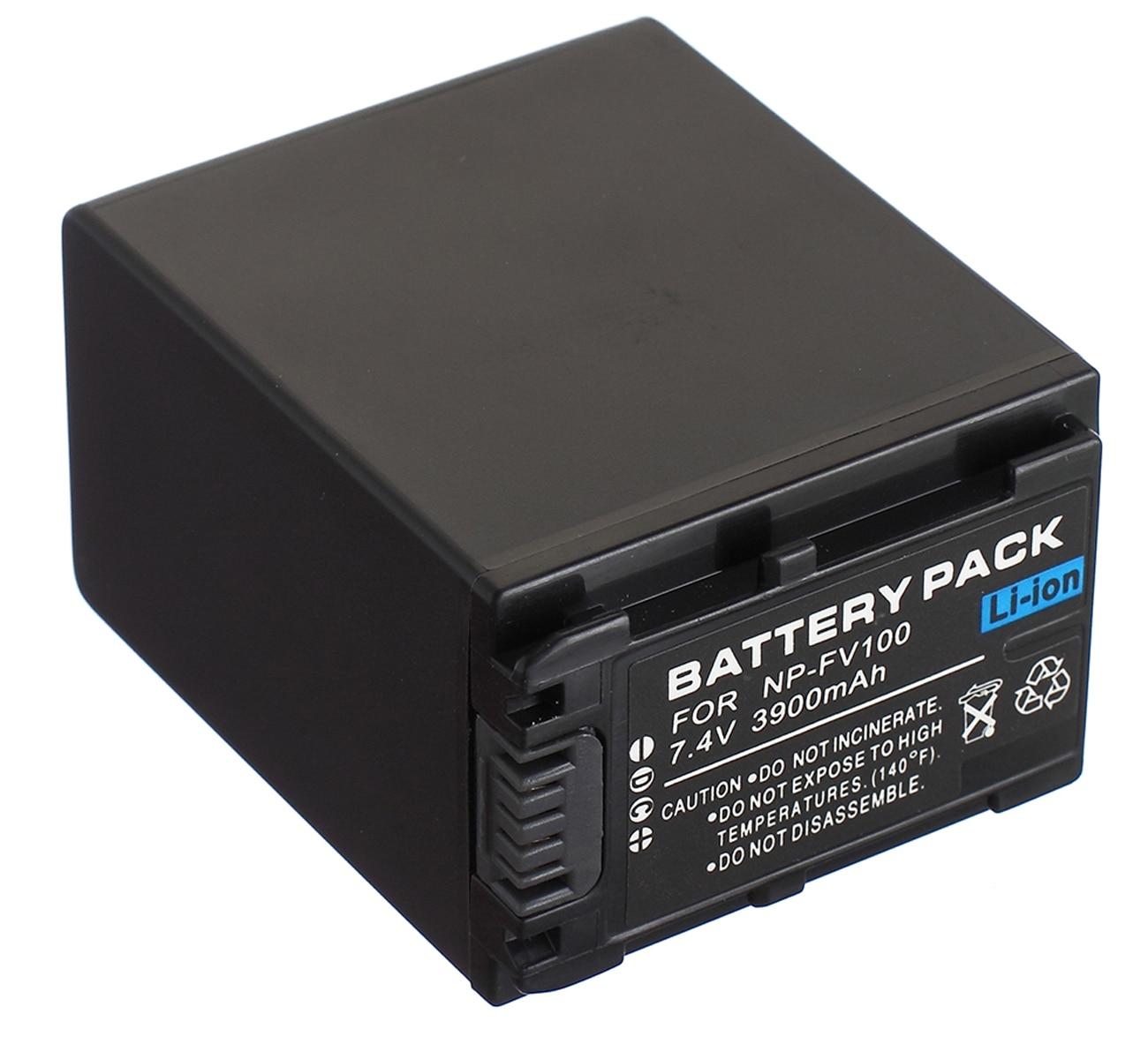 NP-FV100 Paquete de batería para Sony HDR-PJ320... HDR-PJ330... HDR-PJ340... HDR-PJ350... HDR-PJ380... HDR-PJ390...
