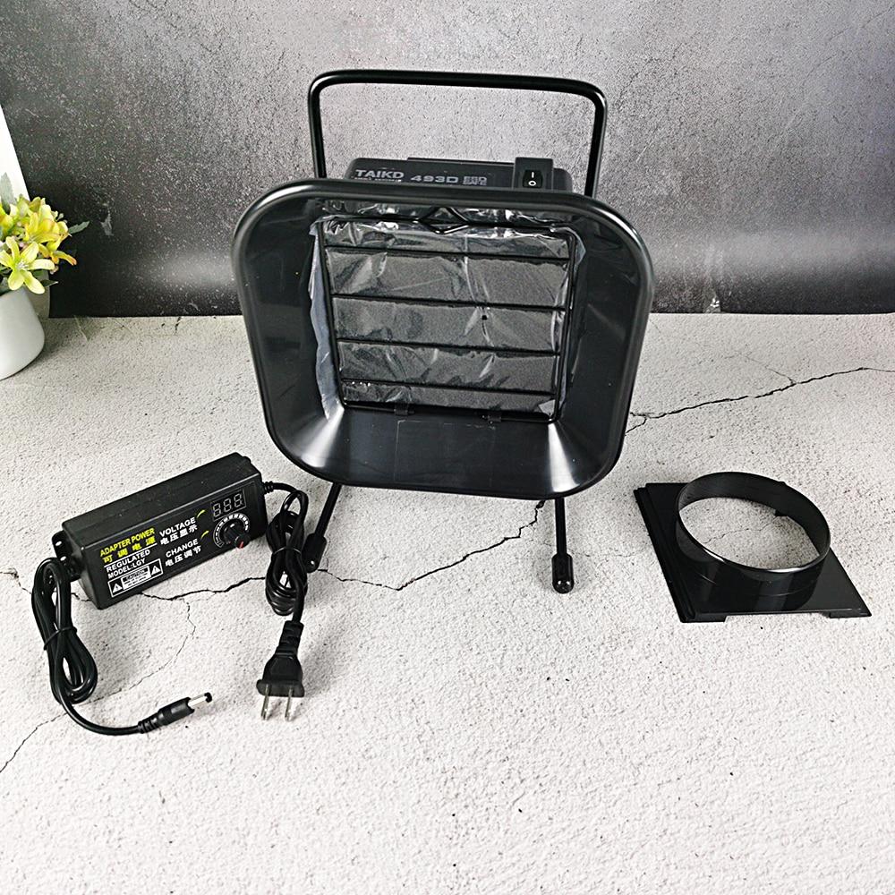 Solder Smoke Purifier Exhaust Fan Smoking Instrument Solder Smoke Absorber 493DH Smoke Absorber Home Power Tool Parts 493 smoke
