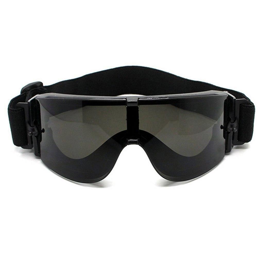 חם צבאי משקפי טקטי משקפיים עם 3 צבעים עדשת Airsoft X800 משקפי שמש עיניים הגנה על מנוע רכיבה על אופניים משקפי רכיבה חדש