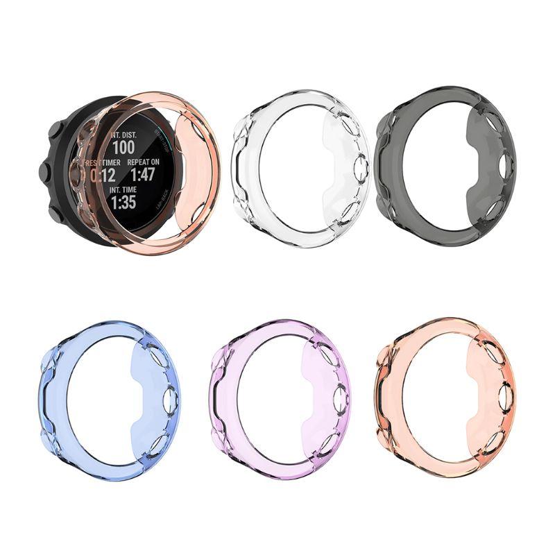 Funda de protección de TPU blanda y ultrafina, funda protectora de silicona para Garmin Swim 2, accesorios para reloj inteligente
