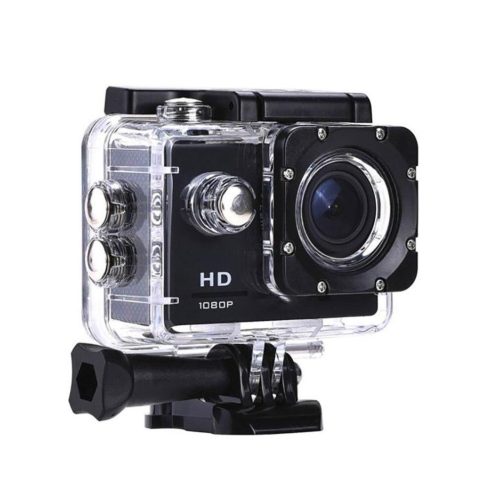 """CÁMARA DE ACCIÓN Digital impermeable, videocámara de 2,0 """"HD 1080P/24fps, Sensor CMOS, lente gran angular, cámara deportiva Profesional"""