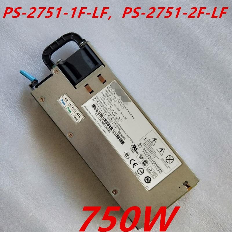 Nuevo PSU para Lenovo Huawei Liteon R520G7 RH2285 750W fuente de alimentación PS-2751-1F-LF PS-2751-2F-LF 36001765 11030706