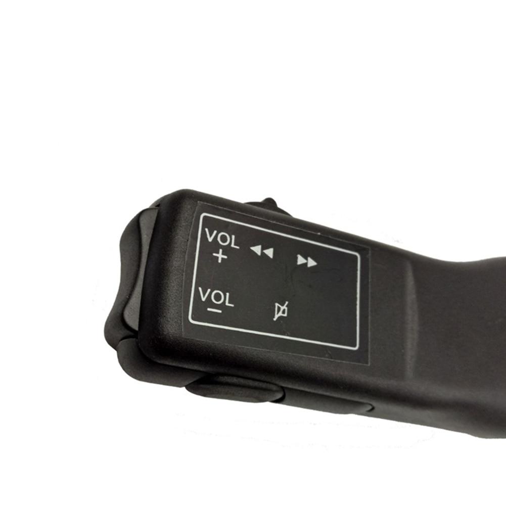 Nuevo modificado sonido fácil de usar DVD ABS ligero Universal Botón de volante Multi-funcional cableado controlador de navegación de coche