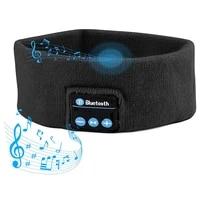 sleep bluetooth 5 0 headphones wireless handsfree earphones with mic music sports hd headband for sleeping running yoga insomnia