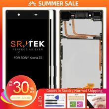Original Display For SONY Xperia Z5 LCD Touch Screen with Frame For SONY Xperia Z5 Dual LCD Display E6653 E6603 E6633 E6683