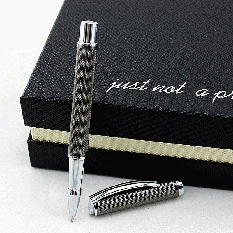 Высококачественная шариковая ручка, качественная металлическая шариковая ручка, Офисная дизайнерская ручка