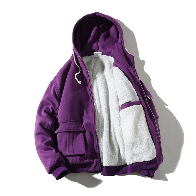 Мужская зимняя куртка с капюшоном, теплая ветрозащитная парка, Мужская Толстая парка, Повседневная Студенческая Свободная верхняя одежда в...