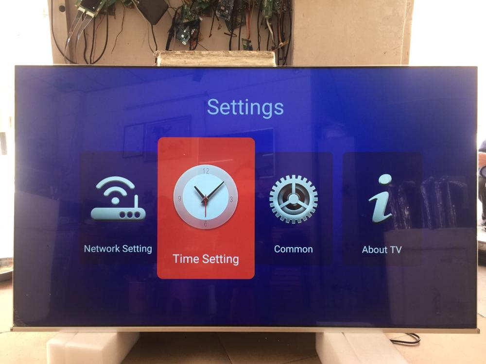 70 ''pulgadas monitor lcd y android smart TV con Dolby DVB-T2 S2 y wifi bluetooth TV televisión led tv