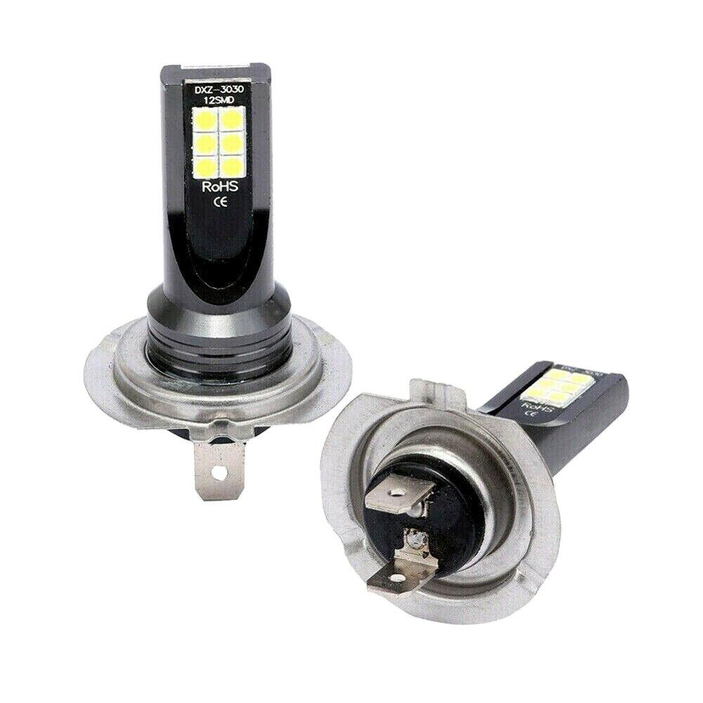 2X H7 110W 24000LM LED de conversión de faros delanteros Globe Beam. 6000K Kit nuevo