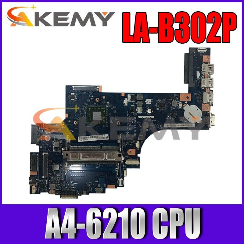 توشيبا الأقمار الصناعية C55 C55D-B اللوحة الأم للكمبيوتر المحمول K000890970 LA-B302P مع A4-6210 اختبارها بالكامل
