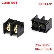 10 stks/partij KF1000-2P PCB Schroef blokaansluiting pitch 10MM 2PIN PIN KF1000 2P