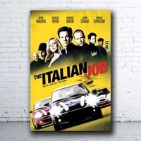 Affiche de film de travail italien retro nostalgique a lancienne  carte murale pour couloir de cinema  Club  salon  decoration de la maison 12 8 pouces