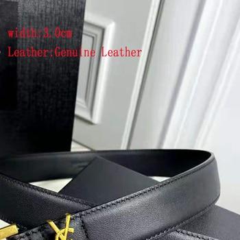 Top 3.0Cm Luxury Brand For Women Jeans Belt Designer Classic 1:1 High Quality Copy Belts Original Packaing
