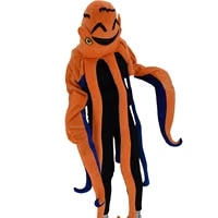 octopus cartoon doll costume cosplay octopus hedging compressible stage performance costume