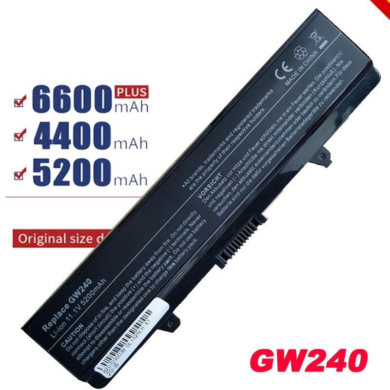 Batería para portátil batería ordenador portátil reemplazo para Inspiron 1440, 1525, 1526, 1545, 1546 Vostro 500 J399N CR693 G555N GW240 K450N D608H
