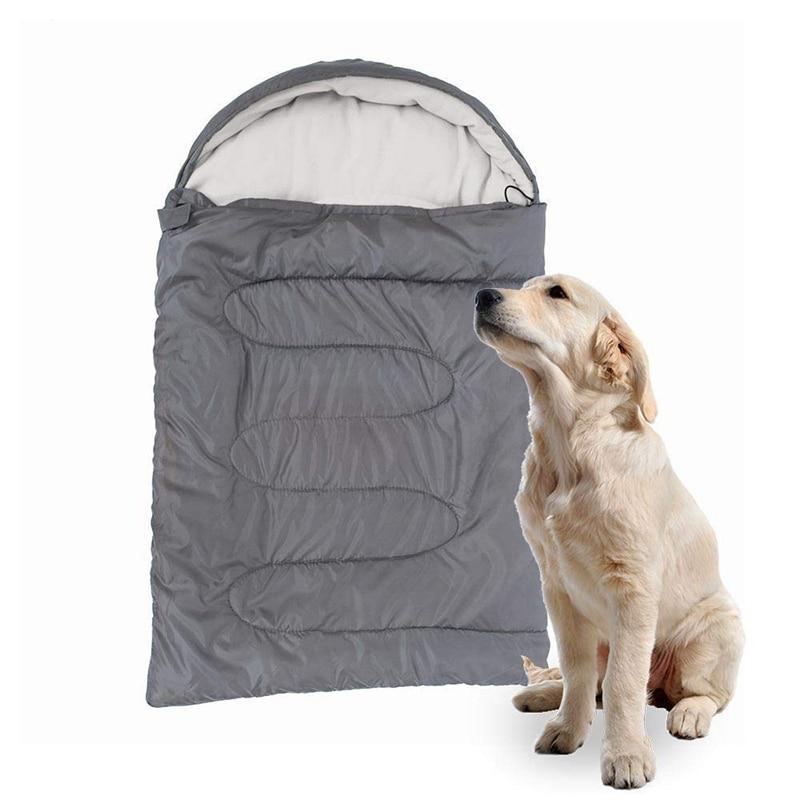 Saco de dormir para perros, suave saco de dormir Polar para mascotas, cálido para invierno, Material Polar para cachorros, sofá acolchado para casa de gato, perrera resistente al agua