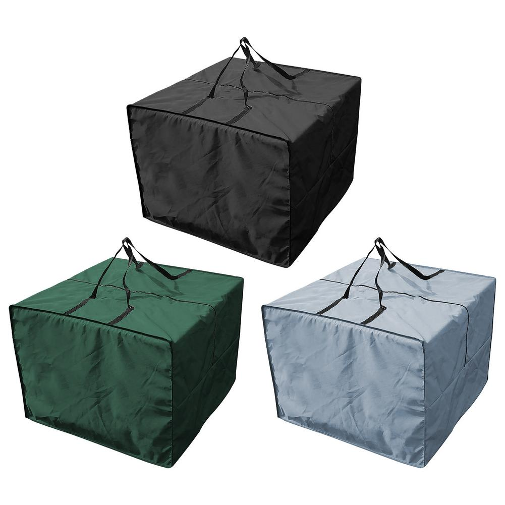 Furniture Seat Cushions Storage Bag Waterproof Pouch 210D Christmas Square Furniture Padded Furniture Cushion Storage Bag