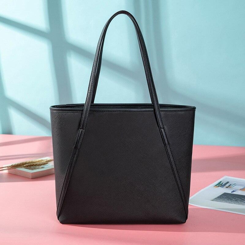 لينة جلد المرأة حقائب كتف كبير فاخر حقيبة يد محمولة سميكة حزام المرأة حقيبة يد فاخرة مقاوم للماء حقائب اليد تتجه