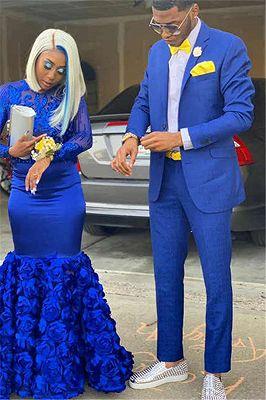 تصميم جديد سليم صالح رجل البدلة الأزرق الشق التلبيب العريس أفضل رجل بذلة 2 قطعة (السترة بانت) مصممة خصيصا الدعاوى الزفاف للرجل