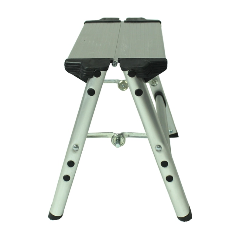 Household folding ladder, aluminum alloy thickened outdoor camping fishing stool, one step ladder, portable and lightweight