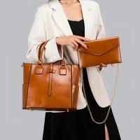 yilian fashionable handbag with a high sense of female fashion single shoulder large capacity cross body bag to send wallet