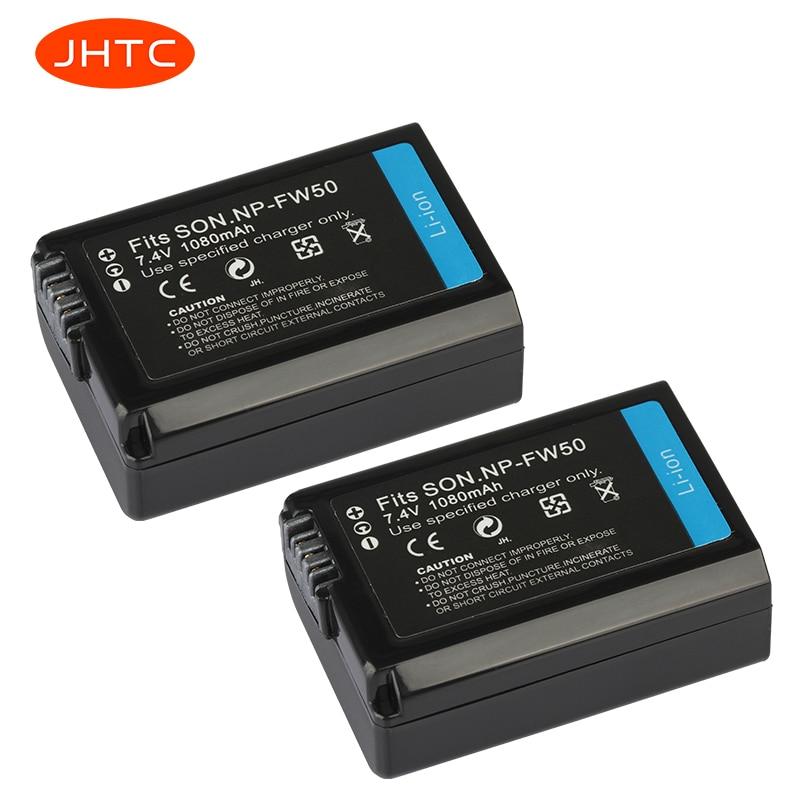 NP-FW50 batería recargable para Sony Alpha a6500 a6300 a6000 a5000 a3000 NEX-3...