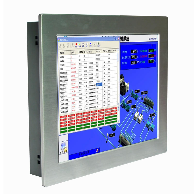 15 inch intel celeron J1900 Industrial Touch Screen Panel PC 4GB ram 64GB SSD Embedded Computer