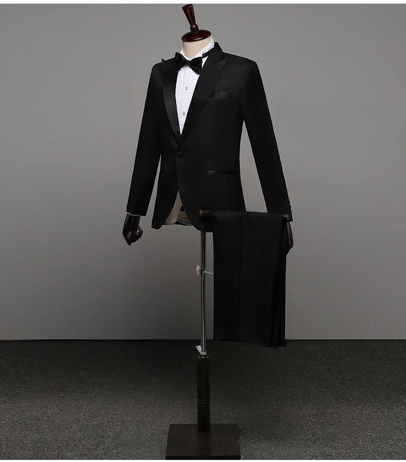 Popodion-بدلات رجالية ، بدلة سواريه للرجال ، بليزر ، لينهو branco ، بدلة زفاف ، بدلة زواج ، FGD10119