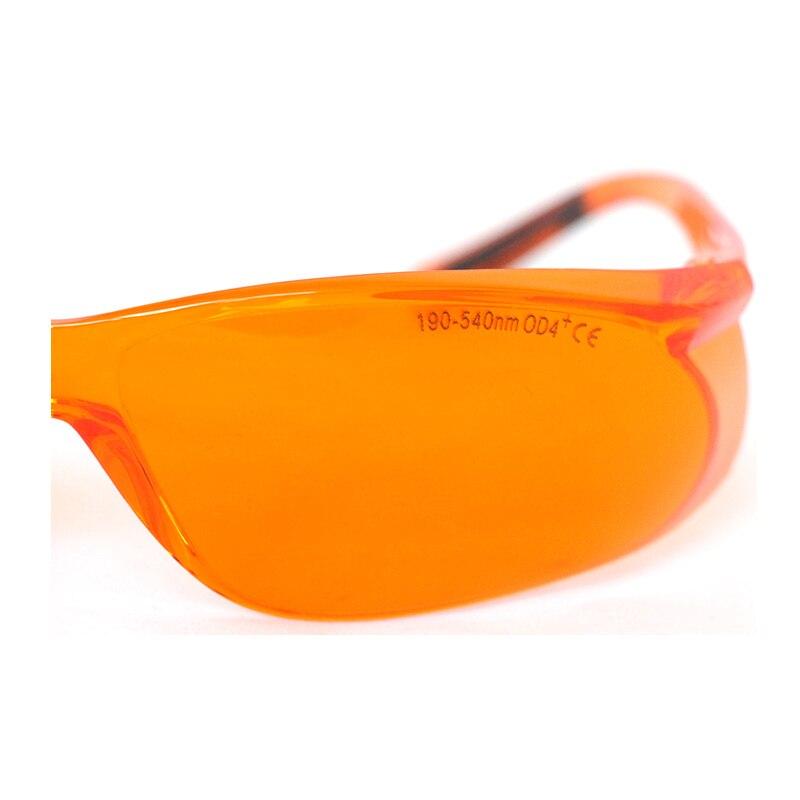 Орел пара 190-540 нм OD4% 2B EP-3-8 широкий спектр непрерывный поглощение лазер защитные очки