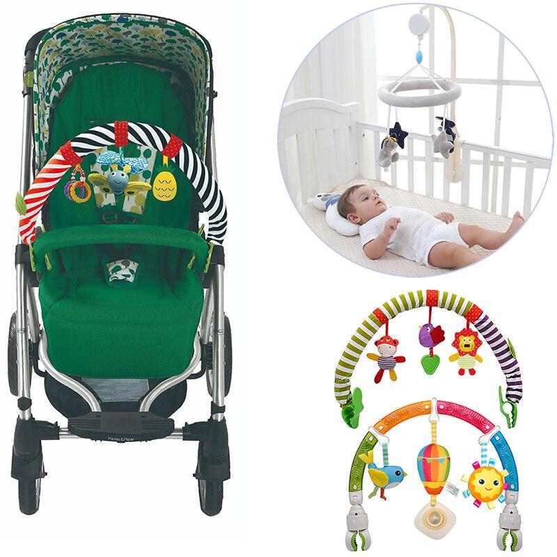 Одежда для новорожденных, автомобильное кресло, музыкальный мобиль погремушки музыкальные развивающие игрушки Bed Bell карусель для детской к...