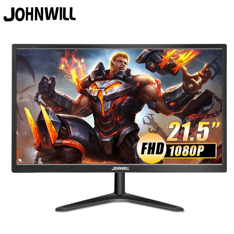 21.5 Inch LCD Monitor LED FHD 1080P Screen 19 Inch HDMI VGA Gaming Monitor PC For PS3 PS4 Box Switch Raspberry Pi 16: 9 Johnwill 13 3 inch portable computer monitor pc 2k 2560x1440 hdmi ps3 ps4 xbo x360 ips lcd led display for raspberry pi wins 7 8 10 case