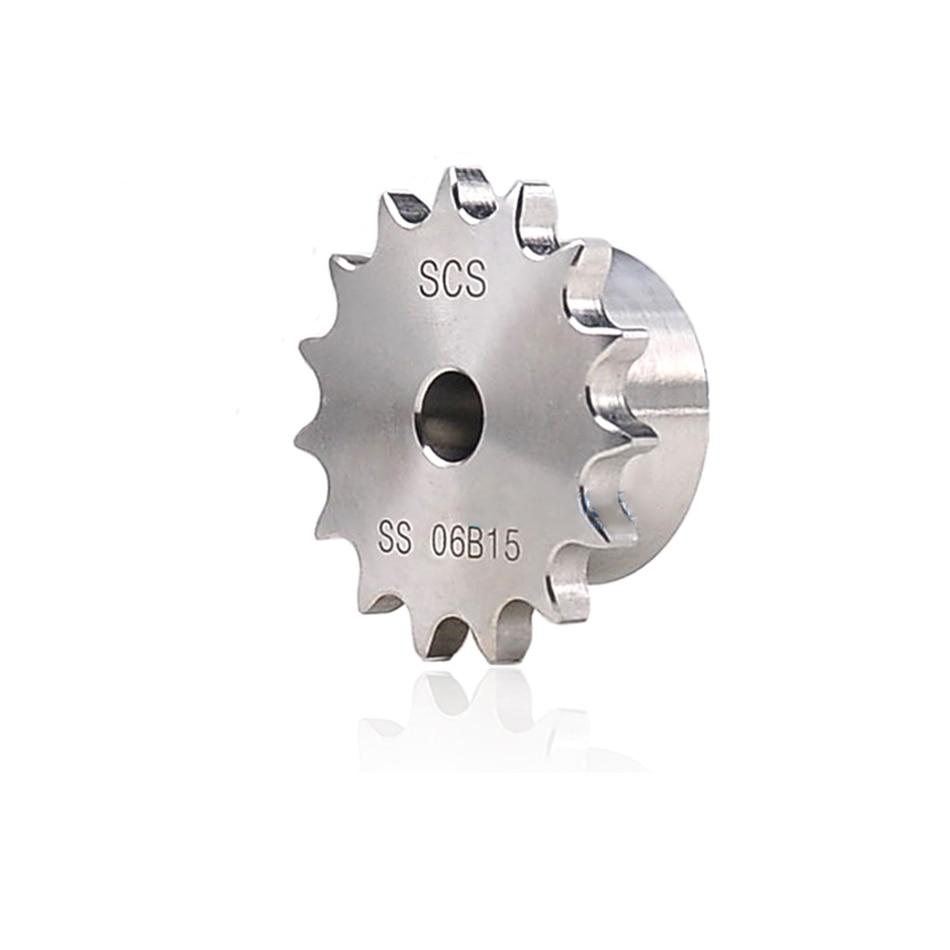 1 قطعة 10A 10 الأسنان إلى 23 الأسنان سلسلة والعتاد ضرس عجلة 304 الفولاذ المقاوم للصدأ