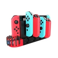 charger for nintendo for switch 4 port controller gamepad charging dock station for switch console holder 9 for joy controller