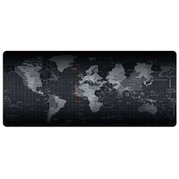 new high quality world map rubber extended office student desk mat gaming mouse pad anti slip waterproof desk keyboard mat